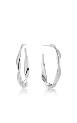 Ania Haie Twist Hoop Earrings E012-04H product image