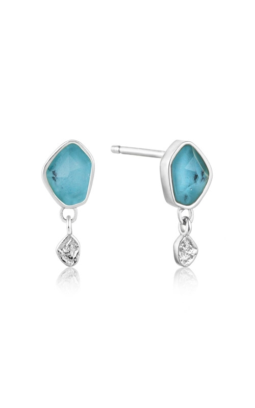 Ania Haie Turquoise Drop Stud Earrings E014-01H product image