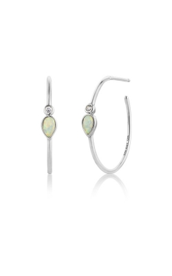 Ania Haie Opal Colour Raindrop Hoop Earrings E014-04H  product image