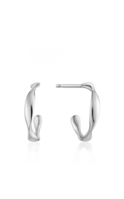 Ania Haie Twist Mini Hoop Earrings E015-01H product image