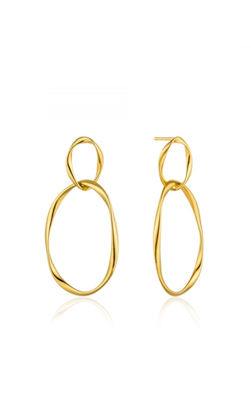 Ania Haie Swirl Nexus Earrings E015-02G product image