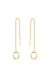 Ania Haie Swirl Threader Earrings E015-03G product image