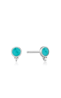 Ania Haie Silver Turquoise Stud Earrings E022-01H product image