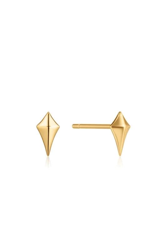 Ania Haie Gold Diamond Shape Stud Earrings E023-23G product image