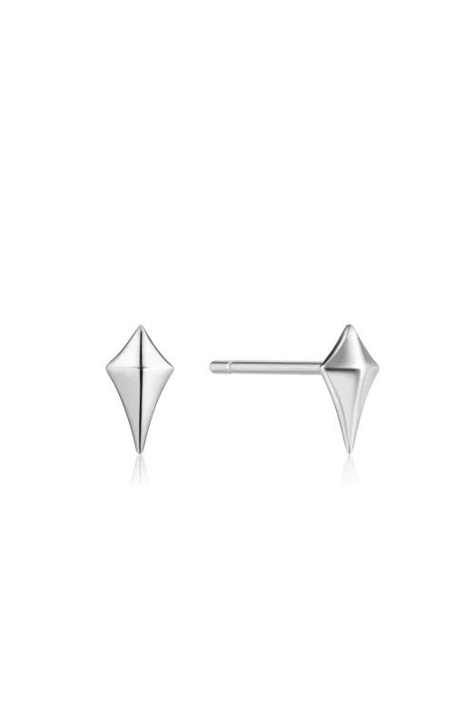 Ania Haie Silver Diamond Shape Stud Earrings E023-23H product image