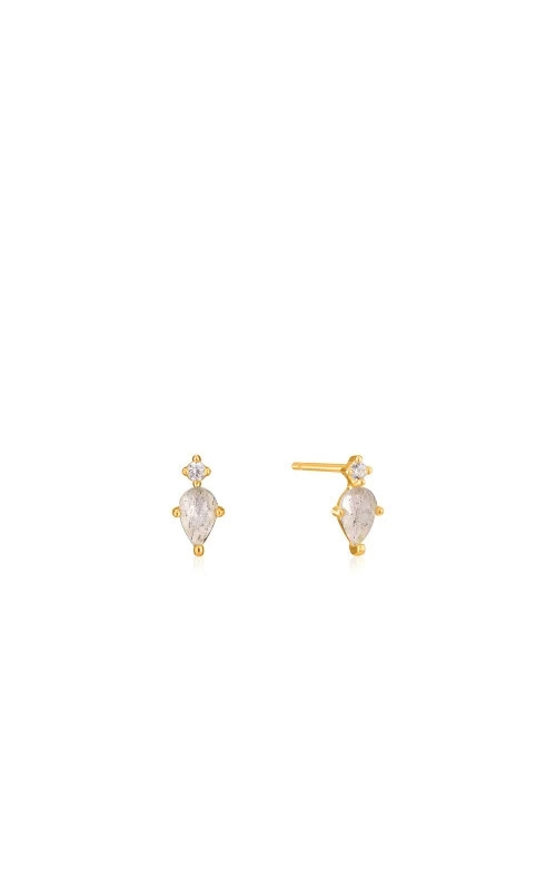 Ania Haie Gold Midnight Stud Earrings E026-02G product image