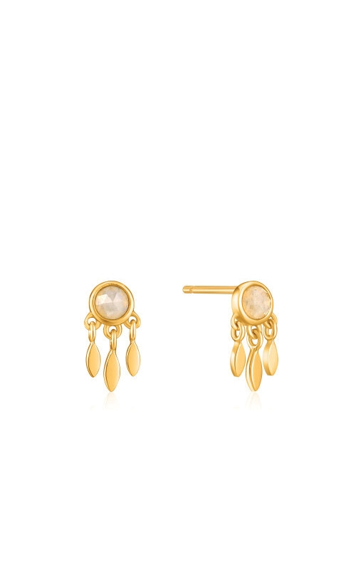 Ania Haie Gold Midnight Fringe Stud Earrings E026-06G product image