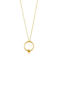 Ania Haie Modern Circle Necklace N002-01G product image