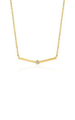 Ania Haie Shimmer Single Stud Necklace N003-02G product image