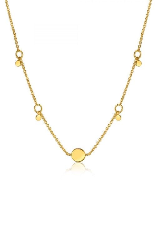 Ania Haie Geometry Drop Discs Necklace N005-03G product image