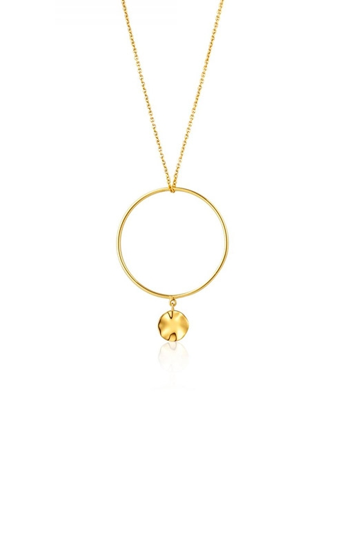 Ania Haie Ripple Circle Necklace N007-02G product image