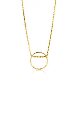 Ania Haie Twist Chain Circle Necklace N007-03G product image