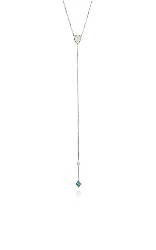 Ania Haie Turquoise and Opal Colour Y Necklace N014-01H product image