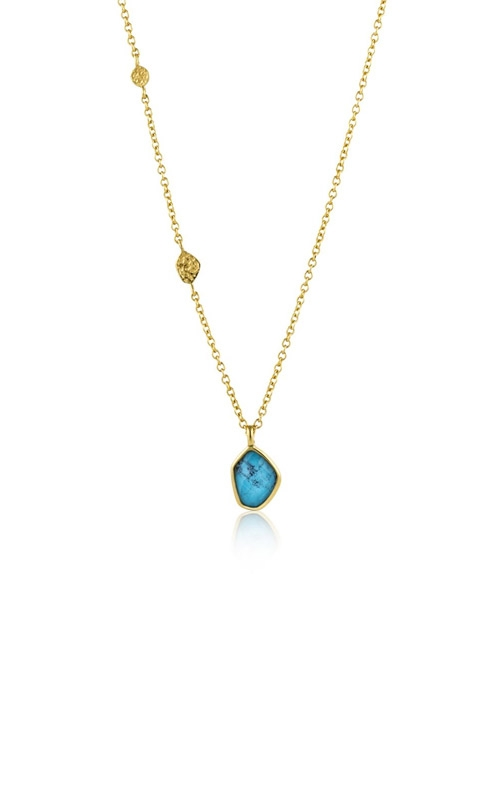 Ania Haie Turquoise Pendant Necklace N014-02G product image