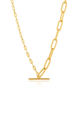 Ania Haie Gold Mixed Link T Bar Necklace N021-02G product image