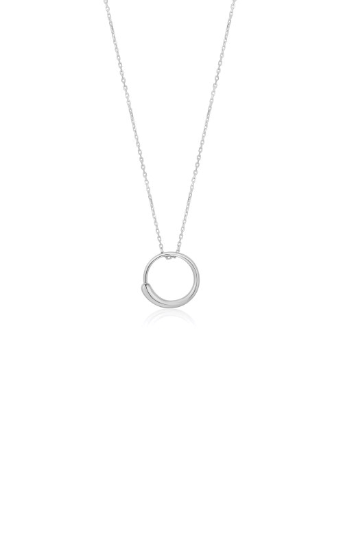 Ania Haie Silver Luxe Circle Necklace N024-01H product image