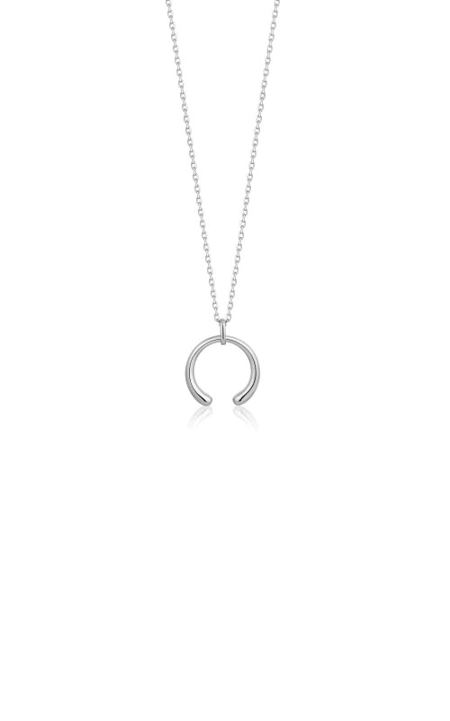 Ania Haie Silver Luxe Curve Necklace N024-03H product image