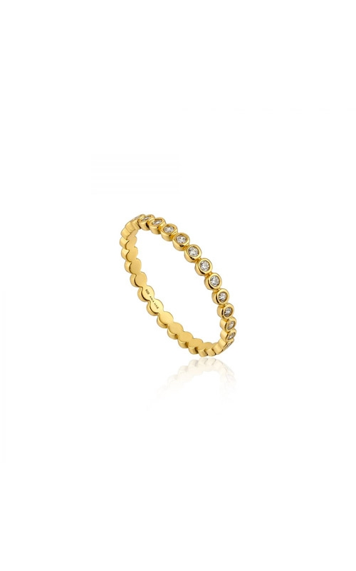 Ania Haie Shimmer Half Eternity Ring - Size 7 R003-01G-54 product image