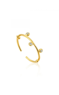 Ania Haie Shimmer Stud Adjustable Ring- Size 7 R003-02G product image