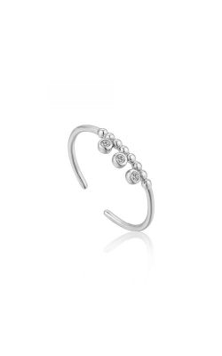 Ania Haie Shimmer Triple Stud Adjustable -  Size 7 Ring R003-03H product image