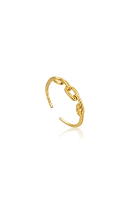 Ania Haie Gold Links Adjustable Ring R004-02G product image