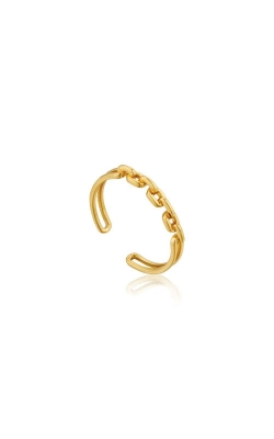 Ania Haie Gold Links Double Adjustable Ring R004-03G product image