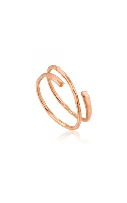 Ania Haie Ripple Adjustable Ring - Size 7 - R007-05R product image