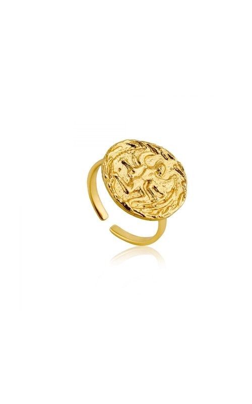 Ania Haie Boreas Adjustable Ring - Size 7 R009-01G product image