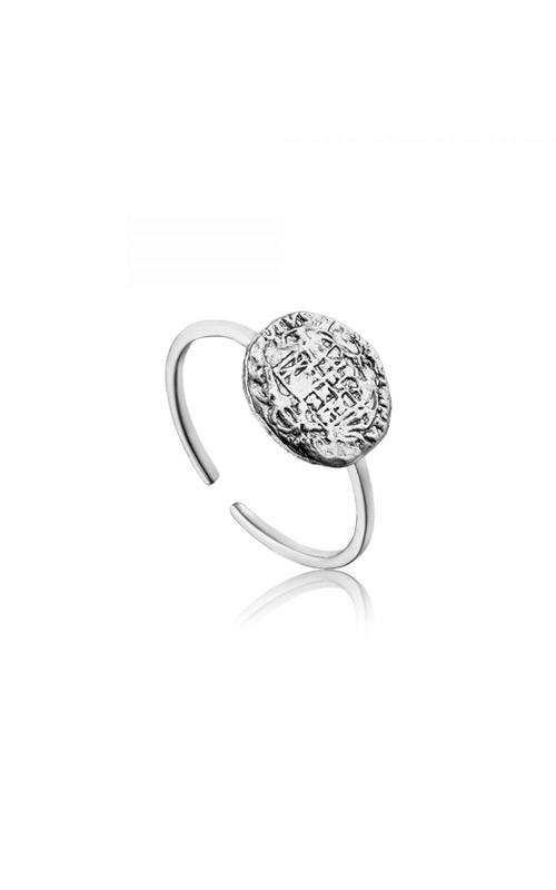 Ania Haie Emblem Adjustable Ring - Size 7 R009-02H product image