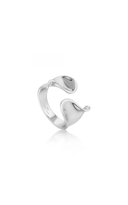 Ania Haie Twist Wide Adjustable Ring - Size 7 R012-03H product image