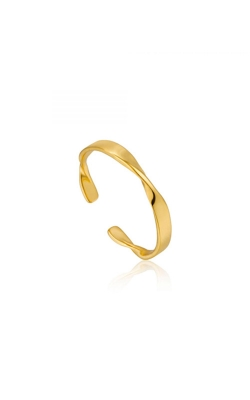 Ania Haie Helix Thin Adjustable Ring - Size 7 R012-04G product image