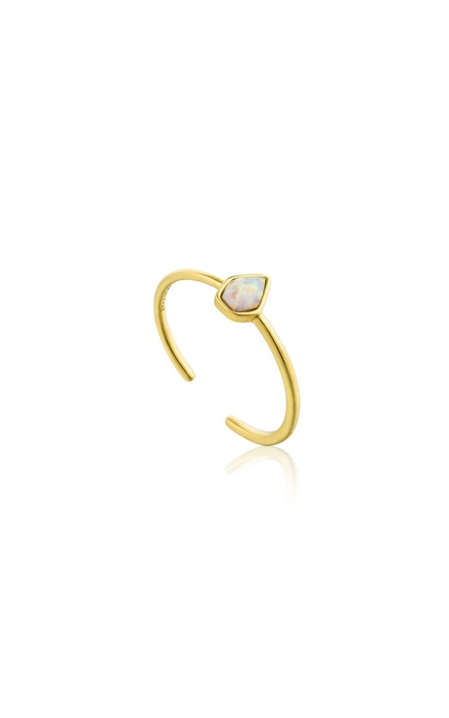 Ania Haie Opal Colour Adjustable Ring - Size 7 R014-03G product image