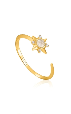 Ania Haie Gold Midnight Star Adjustable Ring R026-03G product image