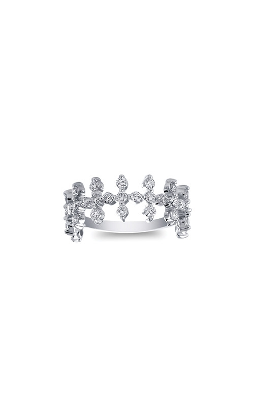 Ashley Lauren 14k White Gold .97ctw Diamond Ring ALC005-226349A product image