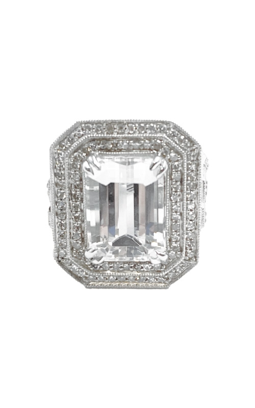 Ashley Lauren 14k White Gold 9.66ct Kunzite Ring ALC126-196356E  product image