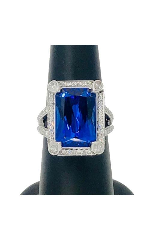 14k WG & YG Tanzanite and Diamond Ring product image