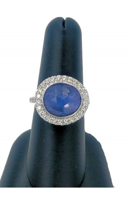 14k WG Tanzanite And Diamond Ring product image