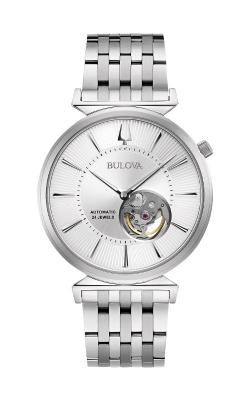Bulova Regatta Men's Silver Heritage Watch 96A235 product image