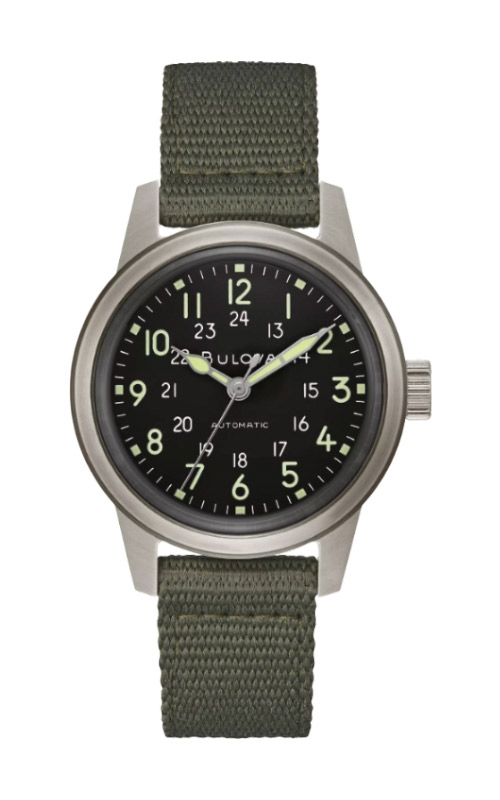 Bulova VWI Special Edition HACK Watch 96A259 product image