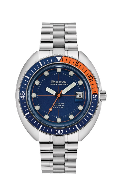 Bulova Devil Diver Oceanographer Automatic Watch 96B321 product image