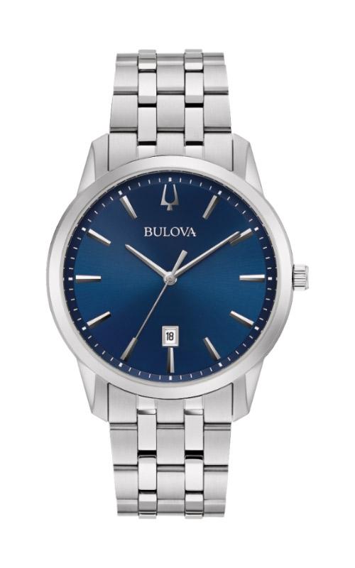 Bulova Sutton Men's Silver Watch 96B338 product image