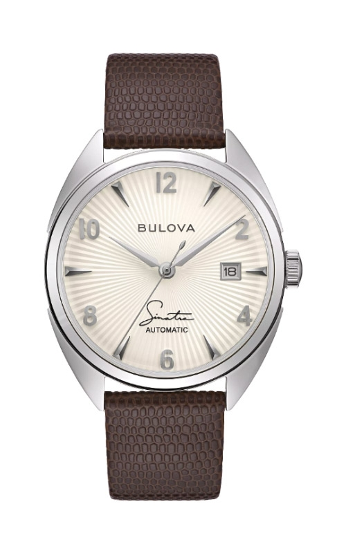 Bulova Men's Frank Sinatra Fly Me To The Moon Watch 96B347 product image