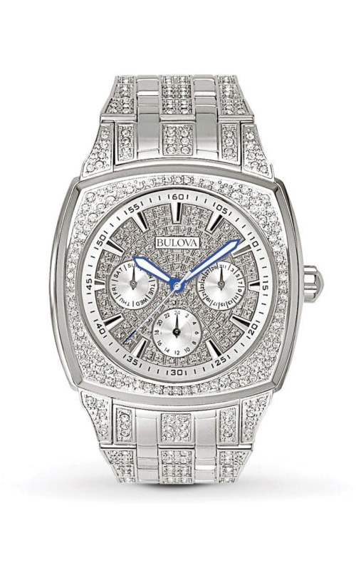 Bulova Octava Men's Crystal Watch 96C002 product image