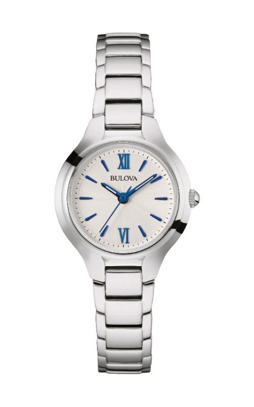 Bulova Classic Women's Silver Tone Watch 96L215 product image