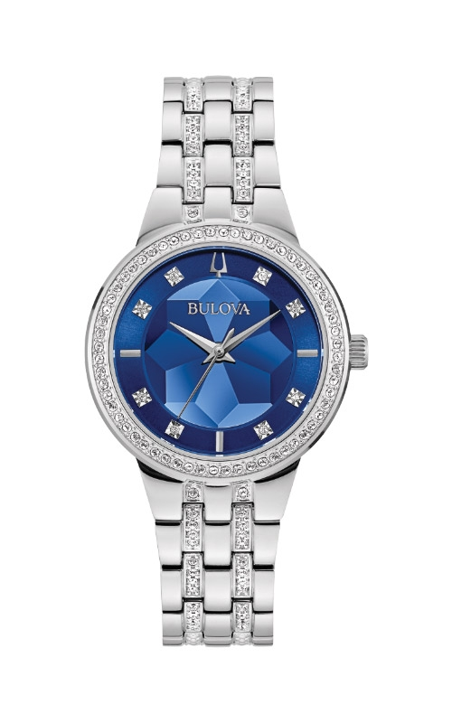 Bulova Phantom Women's Diamond Silver Watch 96L276  product image