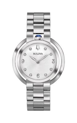 Bulova Rubaiyat Women's Diamond Stainless Steel Watch 96P184 product image