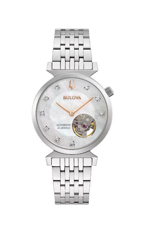Bulova Ladies Regatta Automatic Watch 96P222 product image