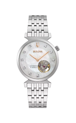 Bulova Ladies Regatta Automatic Watch 96P222 product image