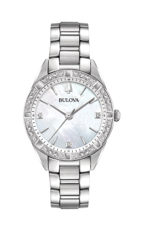 Bulova Sutton Women's Mother of Pearl Watch 96R228  product image
