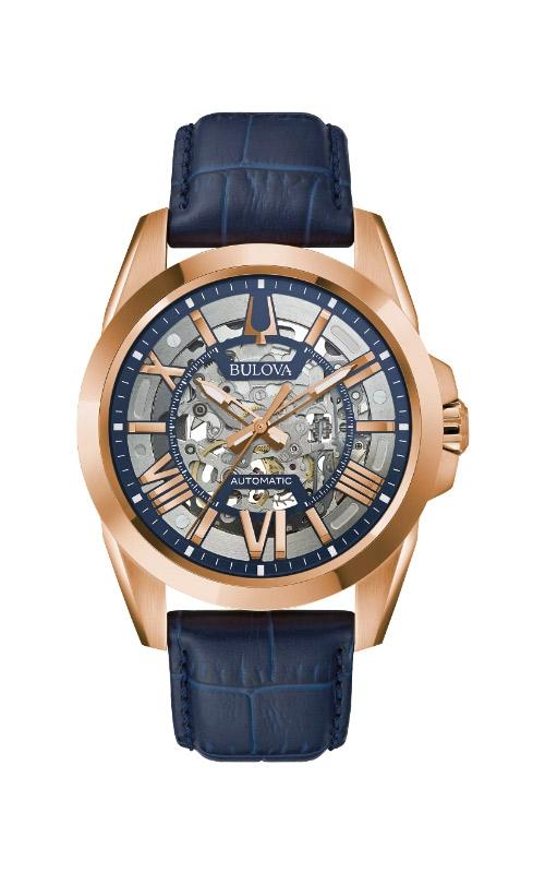 Bulova Sutton Men's Rose Tone Watch 97A161 product image